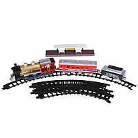Детская железная дорога с двумя вагонами и светом Na-Na Union Express IM245