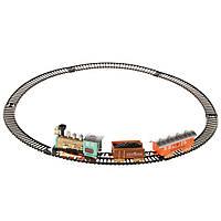 Детская железная дорога Na-Na с двумя вагонами и звуковым эффектом IM243