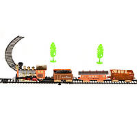 Детская железная дорога Na-Na с тремя вагонами и стрелкой Train Set IM241