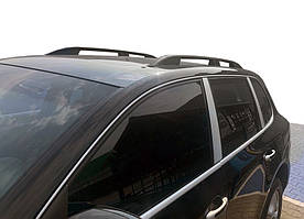 Porsche Cayenne 2003-2010 рр. Рейлінги Skyport (чорний мат)