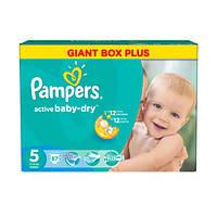 Подгузники Pampers Active Baby-Dry Junior 11-18 кг, 87 шт. (1228165)