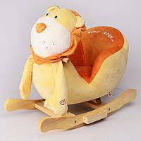 Детское кресло-качалка Na-Na Лев с музыкой IS1