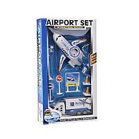 Игровой набор Аэропорт Na-Na Грузовик и самолет со звуком IM375