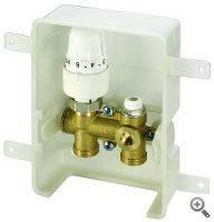 Комплект регулирующий Simplex ER-RTL-I для напольного отопления, для скрытого монтажа, крышка белого цвета