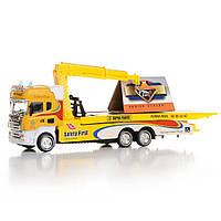Детский грузовой автокран Na-Na со светом и звуком IM315