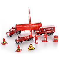 Игровой набор пожарной техники и аксессуаров Na-Na IM296