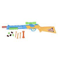 Детский пистолет Na-Na с мягкими ракетами IM133