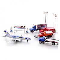 Игровой набор Na-Na Самолет и автомобили Аэропорт IM273