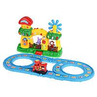 Детская железная дорога Na-Na с вагонами и станцией IM67