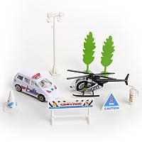Игровой набор Na-Na Полицейский вертолет и машина IM269