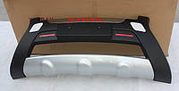 Декоративная накладка на передний бампер X-Trail 2007-2012