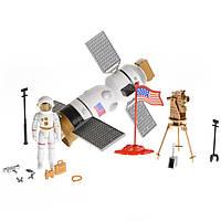 Игровой набор космический спутник с космонавтом и аксессуары Na-Na Планета путешествий IM66A3