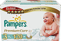 Подгузники Pampers Premium Care Midi Мега-серия 4-9 кг, 120 шт. (1223930)