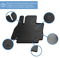 Chevrolet Evanda 2000↗ рр. Гумові килимки (4 шт, Stingray Premium)