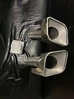 Range Rover Sport 2005-2013 рр. Насадки на глушник (2 шт., нерж)