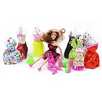 Игровой набор Na-Na Кукла с различными аксессуарами и одеждой Beauty ID37C