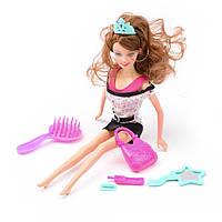 Игровой набор Na-Na Кукла c мобильным телефоном и аксессуарами Beauty girl ID37A