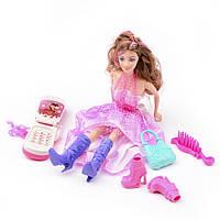 Игровой набор Na-Na Кукла с мобильным телефоном и аксессуарами Beauty ID36B