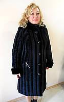 Пальто из искуственного каракуля