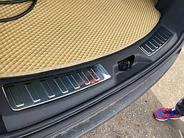 Land Rover Discovery Sport Накладка на задній поріг (2 шт., нерж)
