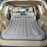 Автомобильный матрас-кровать надувной WOW Надувная кровать на заднее сиденье и багажный отсек Электронасос + 2