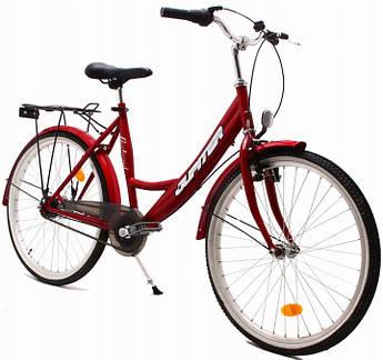 Городской велосипед OLPRAN JUPITER 24 red 140-160 см Nexus 7 Польша