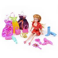 Игровой набор Na-Na Кукла с аксессуарами и одеждой Beauty girl ID35C
