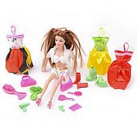 Игровой набор Na-Na Кукла с аксессуарами и одеждой Beauty girl ID35A