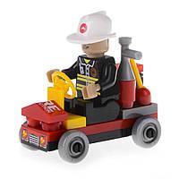 Детский конструктор Пожарная бригада Na-Na Пожарная машина IM61A