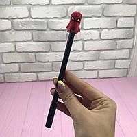 Ручка гелева Марвел Людина Павук Червоний колір чорнила чорний