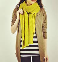 Вязаный длинный шарф, 2 цвета, фото 1