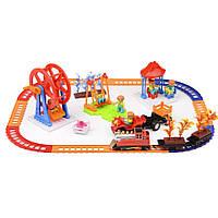 Игровой набор Na-Na Железная дорога Веселые времена со светом и звуком IE279