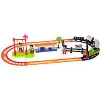 Железнодорожный игровой набор с фермой Na-Na Супер Томас со светом и звуком IE276