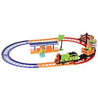 Музыкальная детская железная дорога Na-Na со светом и станцией Супер Томас IE275