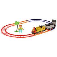 Детская железная дорога Na-Na со звуком и светом серия Супер Томас IE273