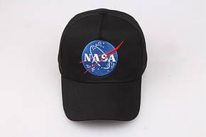 Кепка Бейсболка Мужская Женская NASA НАСА Черная, фото 2
