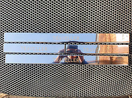 Peugeot Traveller 2017↗ рр. Накладки на дверні пороги (4 шт)