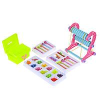 Детский набор для плетения из бисера Na-Na с ткацким станком и шкатулкой IE433