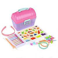 Детский набор для плетения из бисера Na-Na со шкатулкой для украшений IE427