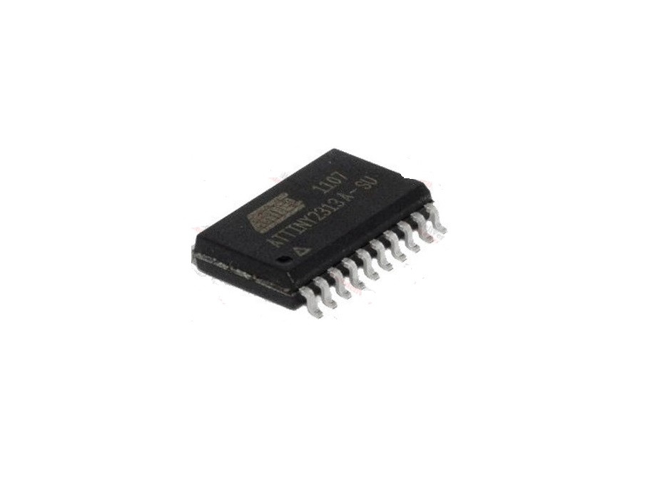 Чип ATTINY2313A-SU SOP20, Микроконтроллер