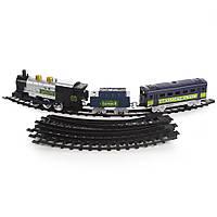 Детская железная дорога Na-Na с двумя вагонами и светом Classical Train IM255