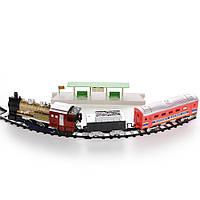 Детская железная дорога Na-Na с двумя вагонами и станцией Union Express IM254