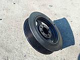 Шкив коленвала Mazda Мазда 6 GH CX-7 R2AA 2,2 дизель , фото 6