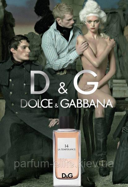 Туалетная вода унисекс Dolce & Gabbana Anthology La Temperance 14 100ml(test)