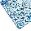 Набір килимків Karaca Home - Blue patch блакитний 60*100+50*60, фото 2