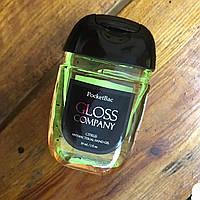 Антисептик для рук City-A Gloss Citrus Цитрус Санитайзер 29 мл Жовтий