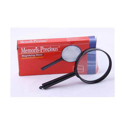 Лупа Memoris-Precious MF1216-3 6 кратное увеличение, D60 мм, пластиковая оправа, фото 2