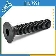 Винты с потайной головкой DIN 7991