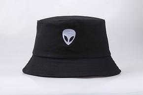 Панама Bucket Hat City-A Alien Інопланетянин Чорна, фото 2
