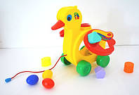 Развивающая игрушка Полесье Уточка-несушка (6219)